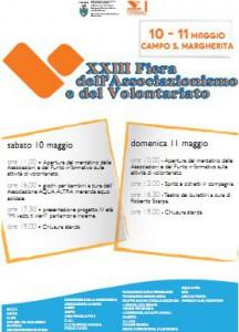 XXIII fiera associazionismo e volontariato